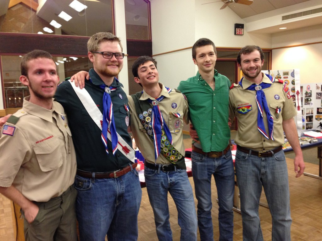 Recent Eagle Scouts from Troop 545